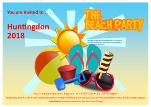 Huntingdon Beach Party @ Market Square | Huntingdon | Pennsylvania | United States