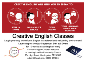 Creative English Autumn 2018